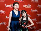 Lilla Crawford steps out to support her sister Savvy Crawford in her scene-stealing Broadway debut in Amélie.