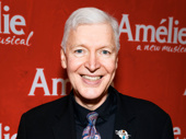 Tony Sheldon flashes a smile for his Broadway return in Amélie.