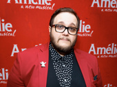 Amélie's Randy Blair goes bold on the red carpet for his Broadway debut.