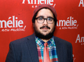 David Andino hits the red carpet for his Broadway debut in Amélie.