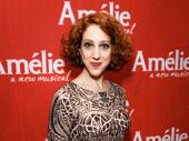 Amélie's Alison Cimmet strikes a pose.