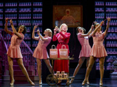 Christine Ebersole as Elizabeth Arden and the cast of War Paint.