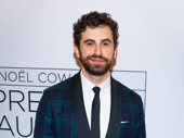 Broadway fave Brandon Uranowitz attends the opening night of Present Laughter.