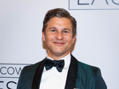 Broadway alum David Burtka snaps a photo.