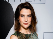 Present Laughter's Cobie Smulders gets glam for her Broadway debut.