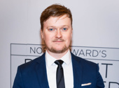 Hand to God Tony nominee Steven Boyer suits up to support director Moritz von Stuelpnagel.