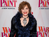 War Paint's Patti LuPone gets glam for opening night.