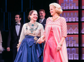 They did it! War Paint's Patti LuPone and Christine Ebersole take in the opening night curtain call.