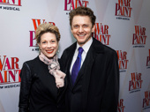 Theater couple Marin Mazzie and Jason Danieley step out.