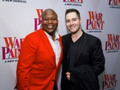 This pair could keep us in stitches all day! Titus Burgess and Randy Rainbow are ready for War Paint.