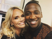 The King of the Jungle and the Queen of Broadway! What could be better? Tony winner Kristin Chenoweth and The Lion King headliner Jelani Remy recently snapped a sweet selfie.(Photo: Instagram.com/itsjelaniremy)