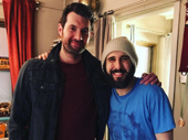 Funny man Billy Eichner is Josh Groban's latest visitor at Broadway's The Great Comet. So, when can these two hilarious guys start a Twitter account and/or web series together?(Photo: Instagram.com/joshgroban)
