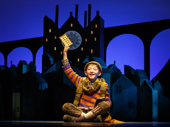 Ryan Foust as Charlie in Charlie and the Chocolate Factory.