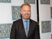 Stage and screen fave Jesse Tyler Ferguson attends the Broadway opening of Oslo.