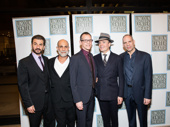 The gents of Oslo look sharp: Michael Aronov,  Anthony Azizi , T. Ryder Smith, Jefferson Mays and Daniel Oreskes.