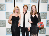 Oslo's ladies hit the red carpet: Angela Pierce, Jennifer Ehle and Henny Russell snap a pic.