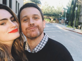 Spring Awakening reunion! Kathryn Gallagher and Michael Arden catch up in sunny California.(Photo: Instagram.com/kathryngallagher)