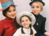 All the cool kids wear hats! Sunday in the Park with George's Ashley Park, Mattea Conforti and Annaleigh Ashford hang backstage.(Photo: Instagram.com/ashleyparklady)
