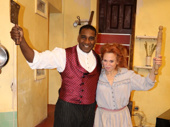 There's no place like the Barrow Street Theatre! Norm Lewis and Carolee Carmello get ready to take on Sweeney Todd off-Broadway!(Photo: Twitter.com/sweeneytoddnyc)