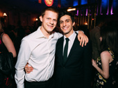 There's a lot of star power at the Groundhog Day after party! Oscar nominee Lucas Hedges and Significant Other star Gideon Glick get together.