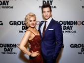Groundhog Day headliner Andy Karl gets together with his off stage love, his wife and fellow Tony nominee Orfeh.