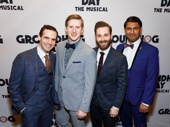 Groundhog Day's gents clean up nice: Joseph Medeiros, Travis Waldschmidt, Michael Fatica and Vishal Vaidya.