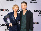 Law & Order: SVU's Kelli Giddish and Peter Scanavino step out to support their pal and former co-star Andy Karl on his Broadway opening.