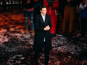 He did it! Groundhog Day's leading man Andy Karl takes his opening night curtain call.