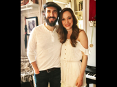 Even in the midst of Bandstand previews, Laura Osnes still finds time to support the theater! She recently visited The Great Comet's Josh Groban.(Photo: Instagram.com/lauraosnes)