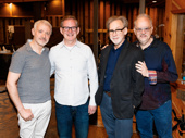 War Paint's music man Scott Frankel, orchestrator Bruce Coughlin, lyricist Michael Korie and scribe Doug Wright get together.
