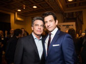 Law & Order: SVU reunion! Peter Gallagher snaps a pic with his pal and former co-star Karl.