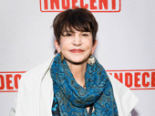 Tony winner Mercedes Ruehl works it on the red carpet.