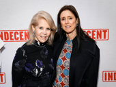 Powerful women! Indecent producer Daryl Roth and Tony winner Julie Taymor get together.