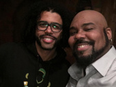 Lafayette! Hamilton Tony winner Daveed Diggs snaps a selfie with James Monroe Iglehart, who is playing the role Diggs originated in Hamilton.(Photo: Instagram.com/jmiglehart)