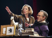 Allison Janney as Ouisa and John Benjamin Hickey as Flan in Six Degrees of Separation.