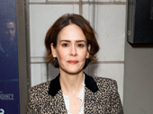 Stage and screen star Sarah Paulson strikes a pose.