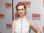 The Little Foxes' Cynthia Nixon strikes a pose.