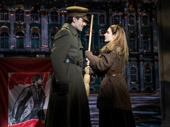 Ramin Karimloo and Christy Altomare in Anastasia.