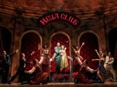 John Bolton, Caroline O'Connor and the cast of Anastasia.