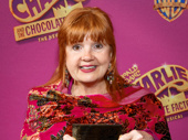 Broadway vet Annie Golden flashes her golden ticket.
