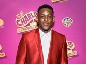 Charlie & the Chocolate Factory's Darius Barnes knows how to work a red carpet.