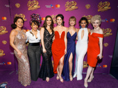The ladies of Charlie & the Chocolate Factory look delicious: Talya Groves, Monette McKay, Robin Masella, Kristen Piro, Amy Quanbeck, Yesenia Ayala and Paloma Garcia-Lee.