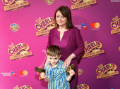 Funny girl Rachel Dratch takes her son Eli Benjamin Wahl to Charlie & the Chocolate Factory's Broadway opening.