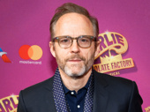Six Degrees of Separation's John Benjamin Hickey spends his night off at Charlie & the Chocolate Factory.