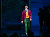 The candy man can! Charlie & the Chocolate Factory star Christian Borle takes in the opening night applause.