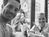 Here's to the Broadway bros who lunch! Anastasia's Ramin Karimloo and Miss Saigon star Jon Jon Briones catch up.(Photo: Instagram.com/raminkarimloo)