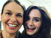 Gorgeous gals! Sutton Foster and her former Violet co-star Emerson Steele's selfie game is strong.(Photo: Instagram.com/suttonlenore)