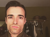 There's no selfies like a two-show day selfie! Bandstand's Corey Cott works it for the camera.(Photo: Instagram.com/naponacott)