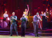 The cast of Bandstand.