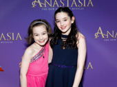 Could Anastasia's Nicole Scimeca and McKayla Twiggs be more adorable?